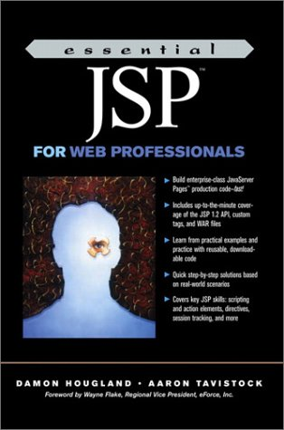 9780130649416: Essential JSP for Web Professionals (Essential for Web Professionals)