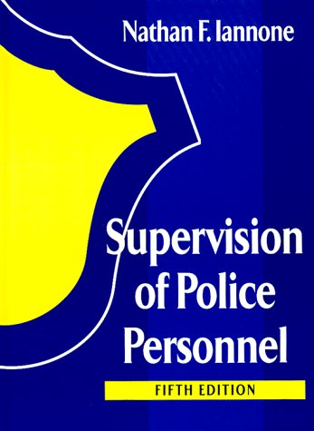 9780130649652: Supervision of Police Personnel (Prentice-hall series in criminal justice)