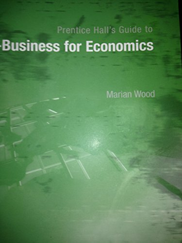 9780130649805: Prentice Hall's Guide to E-Business for Economics