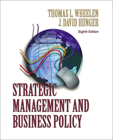 9780130651211: Strategic Management and Business Policy (8th Edition)