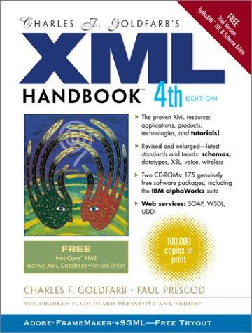 9780130651983: Charles F. Goldfarb's Xml Handbook (Charles F. Goldfarb XML Series)