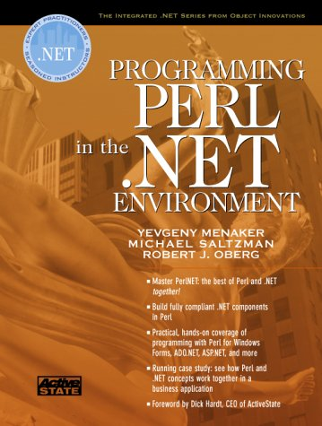 9780130652065: Programming Perl in the .NET Environment