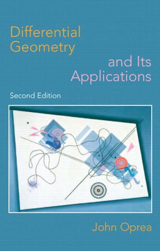 9780130652461: Differential Geometry and Its Applications