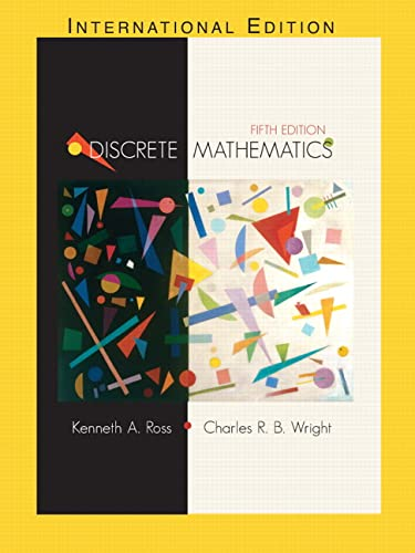 9780130652478: Discrete Mathematics (5th Edition)