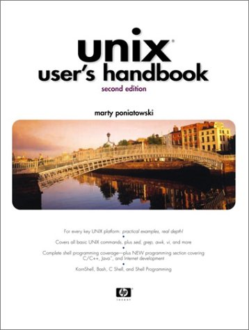 9780130654199: UNIX User's Handbook (2nd Edition)