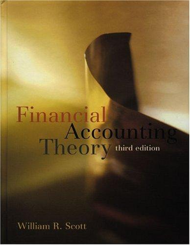 9780130655776: Financial Accounting Theory, Third Edition