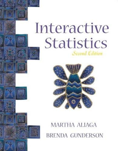 9780130655974: Interactive Statistics (2nd Edition)