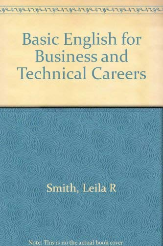 9780130657152: Basic English for Business and Technical Careers