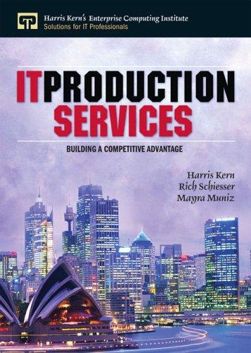 9780130659002: IT Production Services