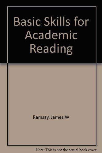 9780130660367: Basic Skills for Academic Reading
