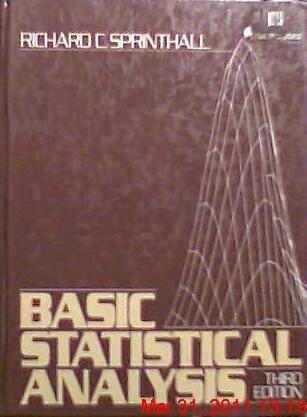 9780130660947: Basic Statistical Analysis
