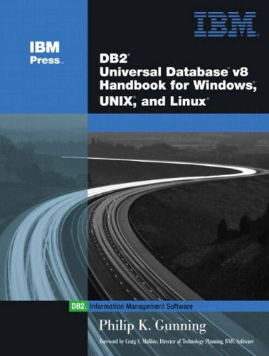 9780130661111: DB2: Universal Database Handbook for Windows and Unix Linux8 (IBM Press Series--Information Management)