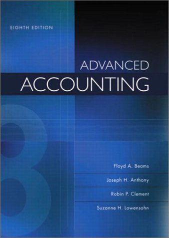 Advanced Accounting: Suzanne H Lowensohn;