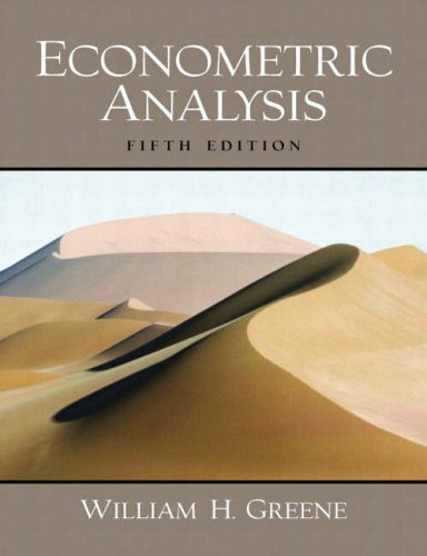 9780130661890: Econometric Analysis