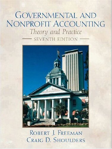 9780130661913: Governmental and Non-Profit Accounting (Charles T Horngren Series in Accounting)