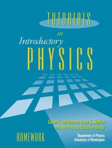 Tutorials in Introductory Physics: Homework: Peter S. Shaffer,Lillian