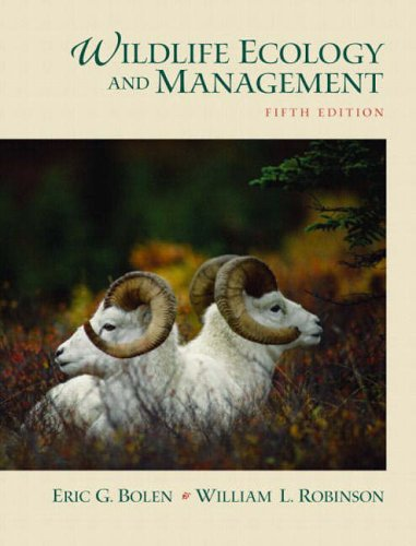 9780130662507: Wildlife Ecology and Management (5th Edition)