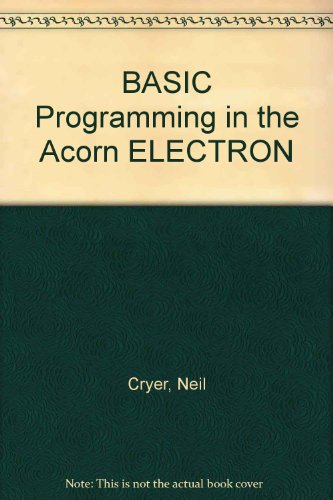 9780130662590: Basic Programming on the Acorn Electron