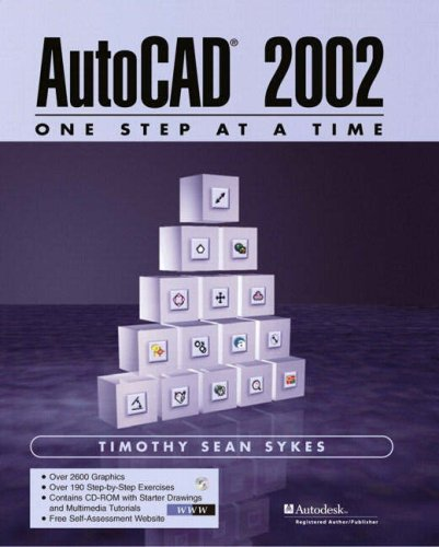 9780130662705: AutoCAD 2002 - One Step at a Time (2nd Edition)