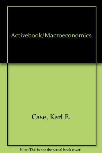 9780130663399: Activebook, Macroeconomics (6th Edition)