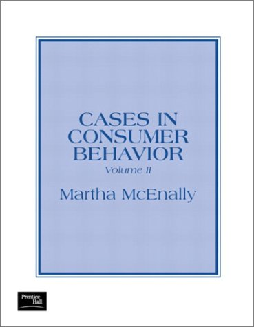 9780130665591: Cases in Consumer Behavior, Volume II