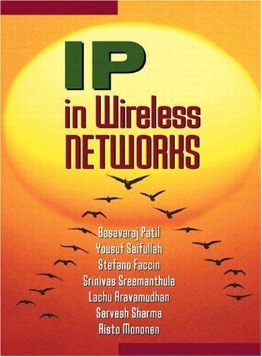 9780130666482: IP in Wireless Networks