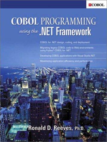 9780130668431: COBOL Programming Using the .NET Framework