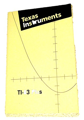 9780130669193: TI-83 Plus instruction Manual (Texas Instruments Graphing Calculator TI83 plus MANUAL)