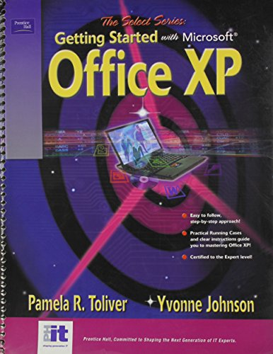 9780130669315: SELECT Series: Getting Started with Microsoft Office XP