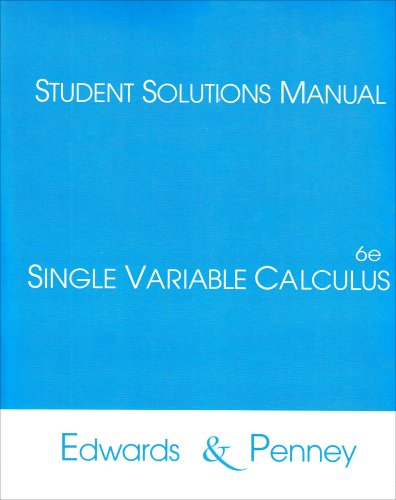 9780130670236: student Solutions Pack for Calculus