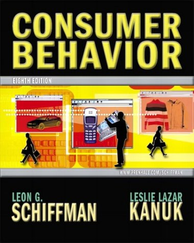 Consumer behavior by leon schiffman abebooks consumer behavior leon schiffman fandeluxe Image collections