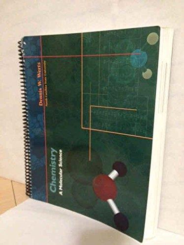 9780130673855: Chemistry a Molecular Science