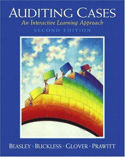 9780130674845: Auditing Cases: An Active Learning Approach (2nd Edition)