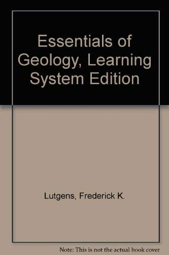 9780130675095: Essentials of Geology, Learning System Edition