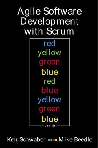 9780130676344: Agile Software Development With Scrum