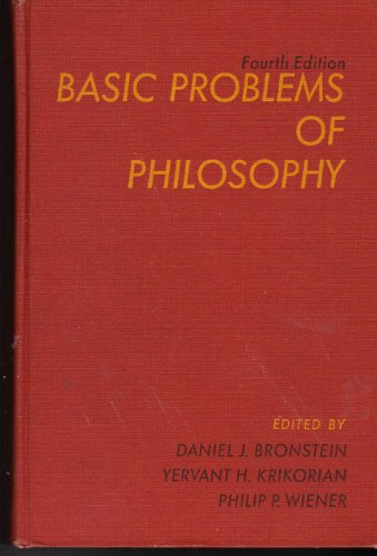 9780130676375: Basic Problems of Philosophy.