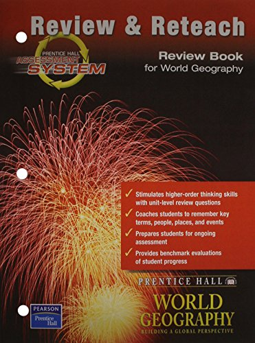 9780130677884: REVIEW BOOK FOR WORLD GEOGRAPHY 2003C