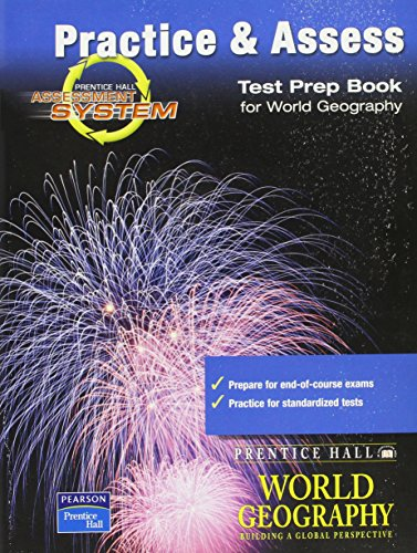 9780130678034: TEST PREPARATION BOOK FOR WORLD GEOGRAPHY 2003C
