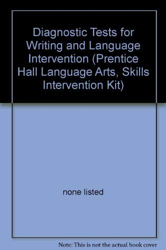 9780130678324: Diagnostic Tests for Reading Intervention (Prentice Hall Language Arts Skills Intervention Kit)