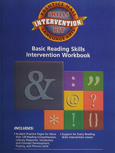 9780130680143: PRENTICE HALL LITERATURE: TIMELESS VOICES TIMELESS THEMES 7TH EDITION   READING SKILLS INTERVENTION PRACTICE BOOK GRADE 6-8 2002C