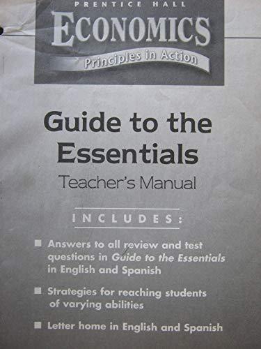 9780130680433: economics principles in action guide to essentials tm
