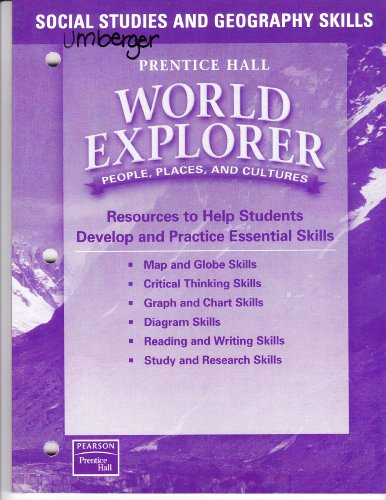 9780130680730: Social Studies and Geography Skills World Explorer (People Places, and Cultures)