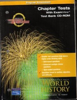 World Explorer Program Assessment Chapter Tests With