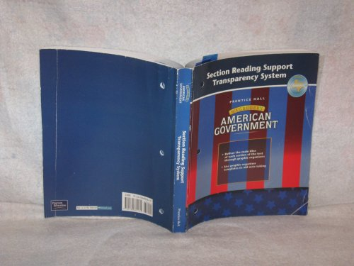 9780130682161: Magruder's American Government: Section Reading Support Transparency System