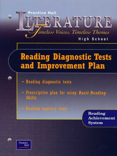 9780130682338: Literature: Reading Diagnostic Tests and Improvement Plan