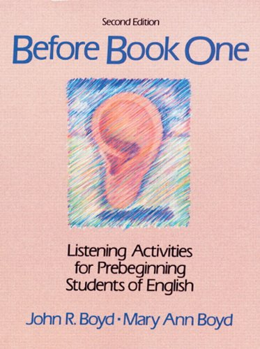 9780130682895: Before Book One: Listening Activities for Pre-Beginning Students of English (Second Edition)