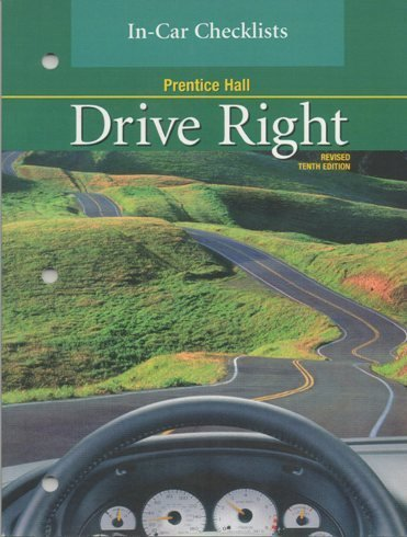 9780130683366: Prentice Hall Drive Right In Car Checklist