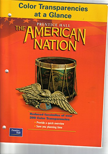 9780130683908: Color Transparencies At a Glance (The American Nation)