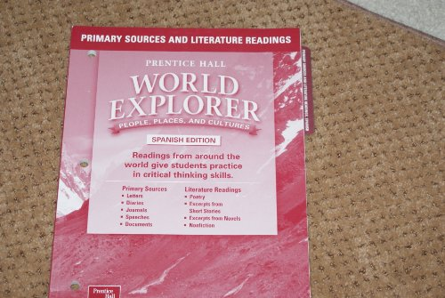 9780130684134: Prentice Hall World Explorer People, Places and Cultures Spanish Edition