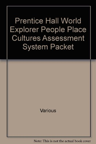 World Explorer-People, Places, And Cultures: Program Assessment System Resources Set (2003 ...